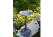 Cast Aluminum American Eagle Bird Bath