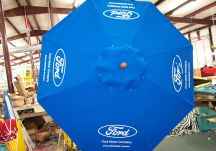 Ford logo umbrella