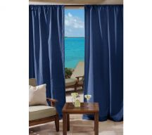 custom rod pocket outdoor drapes