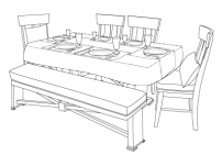 DCS Table Drawing