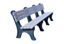 Park Classic 8' Backed Bench