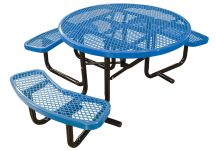 Round Expanded ADA Picnic Table