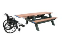 Standard Picnic Table ADA One End