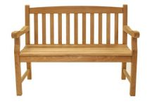 Teak Bench, Two Seater Teak Bench, Classic Teak Bench
