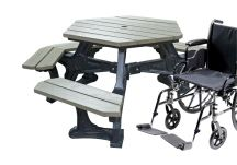 Econo-Mizer Plaza Table ADA