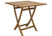 30 Square Folding Teak Sailor Table