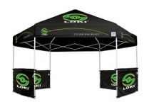 portable shade, hub tent, pop up tent, ez up hub