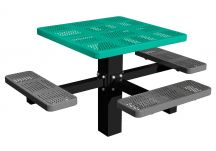 ADA In-ground Perforated Table