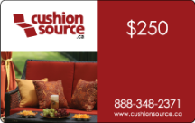 $250 Cushion Source Gift Card