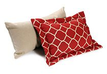 Custom Lumbar Pillows from Cushion Source