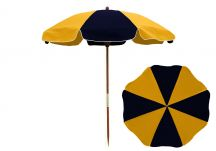 7.5 ft Wood Beach Umbrella