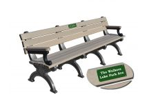 Polly Products Personalized Recycled Plastic Bench