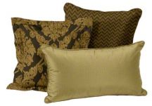 Gilded Holiday Pillow Set