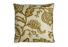 Robert Allen Jacobean Toss Amber Pillow