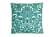 Premier Prints Amsterdam True Turquoise Pillow