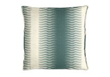 Robert Allen Gita Stripe Peacock Pillow