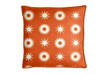 Highland Taylor Compass Orange Pillow