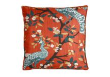 Robert Allen Plume Redux Persimmon Pillow