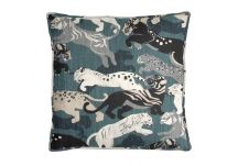 Robert Allen Rajita Tiger Midnight Pillow