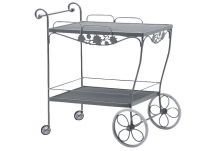 Briarwood Mesh Top Tea Cart