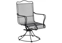 Tucson High Back Swivel Rocker Arm Chair