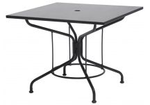 Iron Cafe Series Moderne Square Dining Table