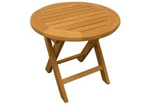 Teak Folding Side Table37
