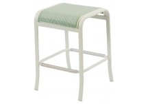 Ocean Breeze Sling Backless Bar Chair, Ocean Breeze Sling Backless Bar Chair