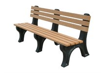 Econo-Mizer 6' Backed Bench