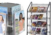 magazine literature racks