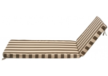 Sunbrella Maxim Cocoa Chaise Cushion
