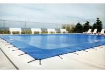 custom pool cover, solid pool cover