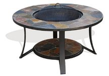 Arizona Sands II Fire Pit Table