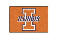 University of Illinois Starter Rug