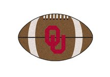 University of Oklahoma Football Rug