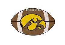 University of Iowa Football Rug