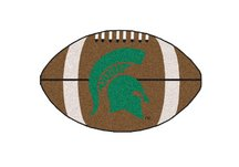 Michigan State University Football Rug