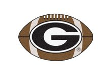 University of Georgia Football Rug