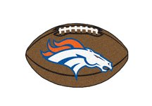 NFL - Denver Broncos Football Rug