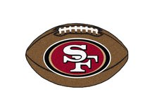 NFL - San Francisco 49ers Football Rug