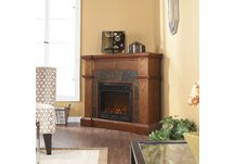 Cartwright Mission Oak Electric Fireplace