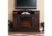 Cameron Glen Media Espresso Electric Fireplace