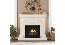 Sicilian Harvest Ivory Gel Fireplace