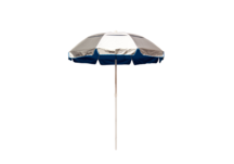 6' Solar Reflective Lifeguard Umbrella