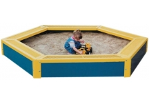 Commercial Hexagon Sandbox