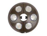 6 LT BRONZE UMBRELLA LIGHT