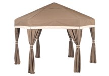 Luxe Pavilions, bungalows, portable shelters, pop up tents, folding pavilions, ez up bungalows, ez up shelters