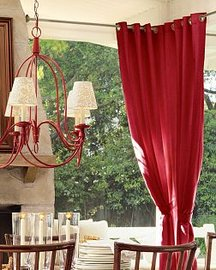 Outdoor Grommet Drapes from outdoordrapes.com