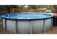 solid pool covers, pool covers, winter pool covers
