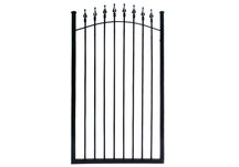 fence, gate, steel, commercial steel, steel gate, commercial steel gate